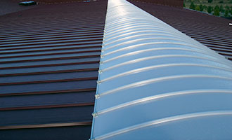 Steel cladding system